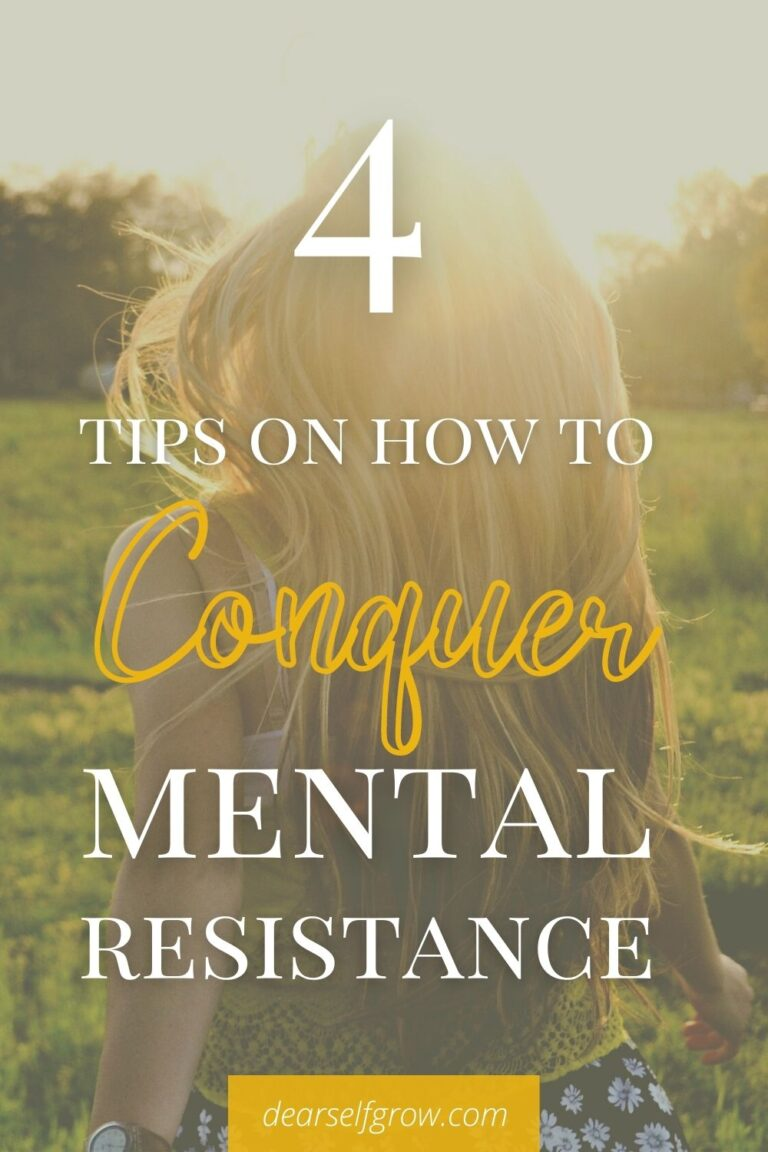 Pin Image for conquer mental resistance