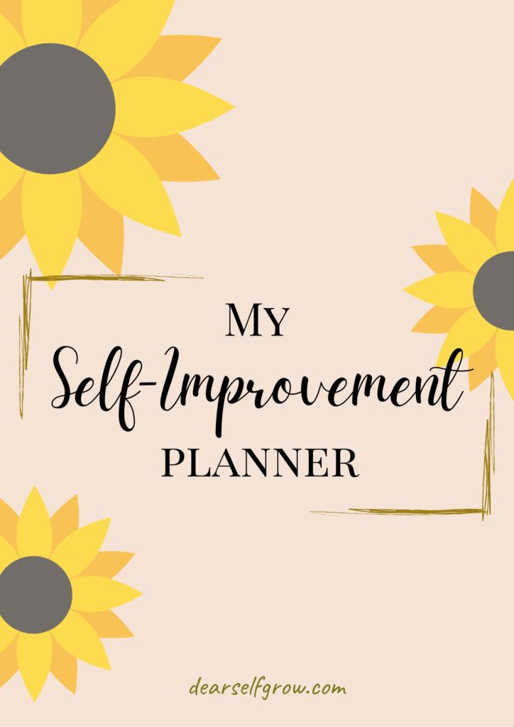 Dear Self Grow- self improvement planner